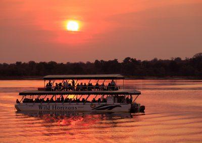 Sunsetcruise Zambesi River