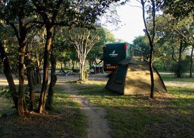 big cave campsite