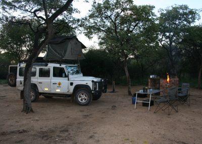 camping khama rhino