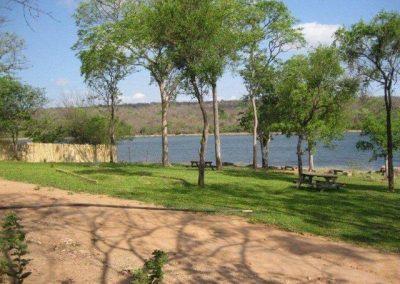 campsite lake kariba